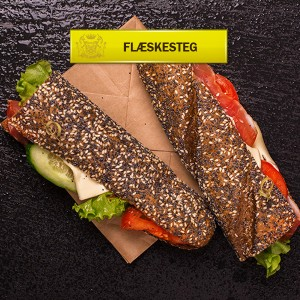 Flæskestegs Sandwich